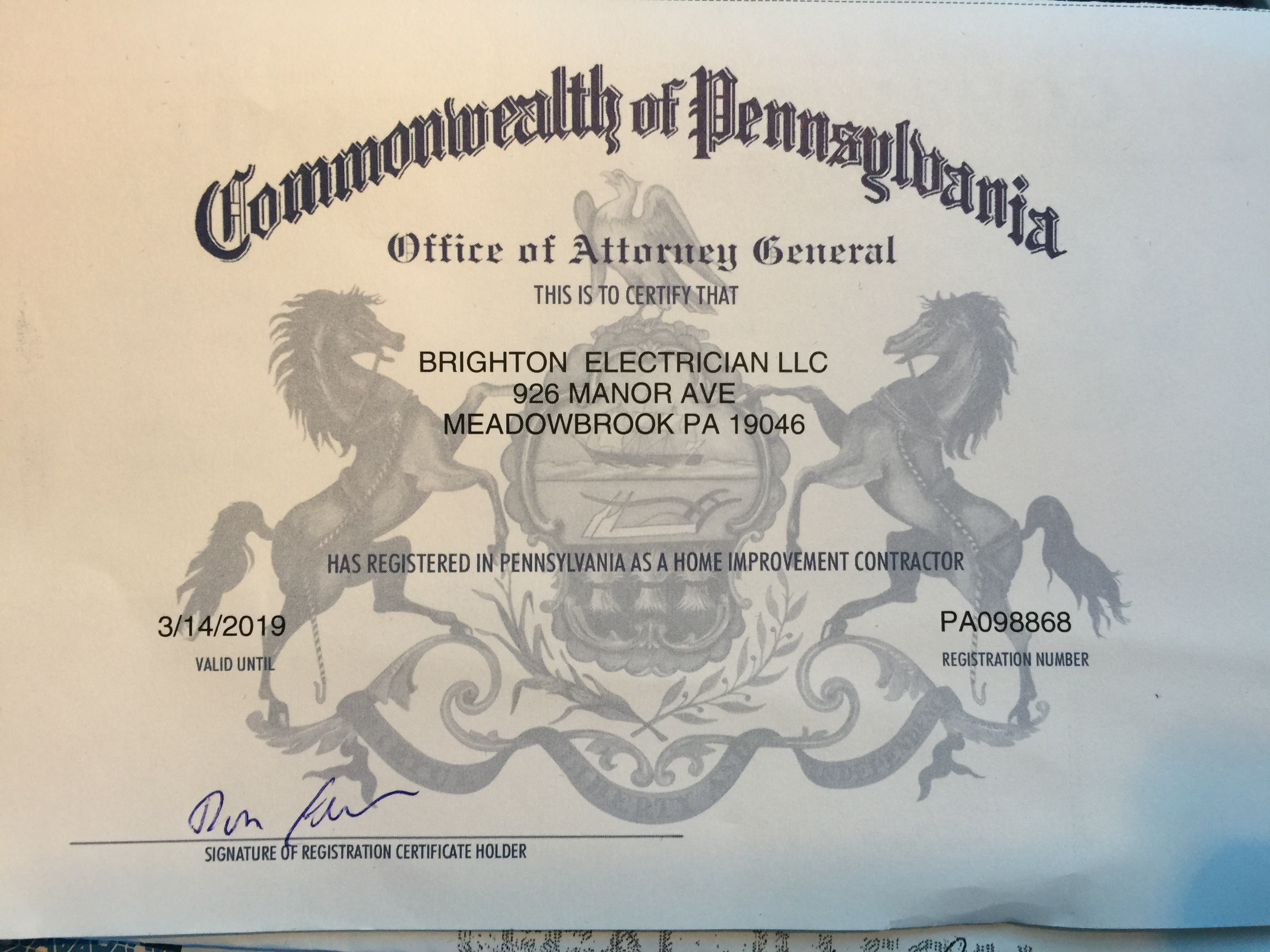 About our electric repair company brighton electric brighton contractorsmy pa electrician new jersey licensed 1betcityfo Image collections