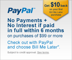 Pay online with your Paypal account